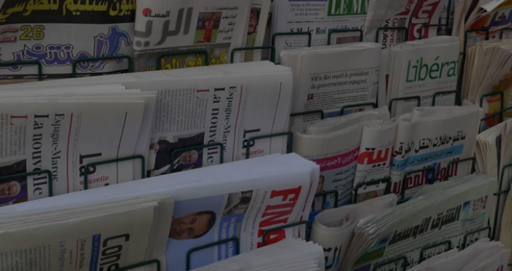 دراسة منصات حول المغاربة وكوفيد 19: تغطية إعلامية واسعة